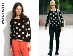 In January Jones' Closet - Madewell Spotdot Sweater