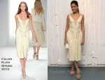 Freida Pinto In Calvin Klein - Calvin Klein Hosts Design Museum Dinner