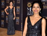 Freida Pinto In Versace - GQ Men of the Year Awards