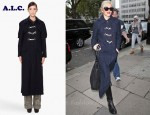 In Gwen Stefani's Closet - A.L.C. Hooded Duffle Coat