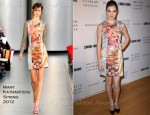 Hailee Steinfeld In Mary Katrantzou - London Show Rooms LA Closing Cocktail Event