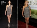 Hayden Panettiere In Jenny Packham - 'Fireflies In The Garden' LA Premiere