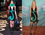 Heidi Klum In Versace - 2011 TeenNick Halo Awards