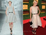 Jamie King In Jason Wu - Veuve Clicquot Polo Classic Event