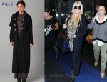 In Jessica Simpson's Closet - A.L.C. Hooded Duffel Coat