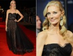 Joely Richardson In Marchesa - 'Anonymous' London Film Festival Premiere