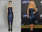 Julianne Hough In Monique Lhuillier - 'Footloose' Nashville Premiere