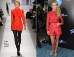 Julianne Hough In Tibi - 'Footloose' LA Premiere