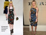 Kate Bosworth In Burberry Prorsum - Burberry Body Launch Event