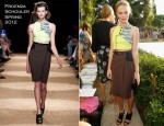 Kate Bosworth In Proenza Schouler - 2011 CFDA Vogue Fashion Fund Finalists Announcement