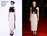 Keira Knightley In Roksanda Ilincic - 'A Dangerous Method' London Film Festival Premiere
