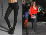 In Khloe Kardashian's Closet - Rag and Bone The Legging Jeans