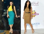Kim Kardashian's United Arab Emirates Tour Looks