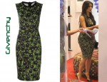 In Kim Kardashian's Closet - Givenchy Pansy Dress & Casadei Pin Heel Pumps