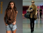 In Kristin Cavallari's Closet - MinkPink Into The Wild Leopard Snood