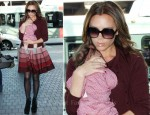 LAX Style: Victoria Beckham In Azzedine Alaia