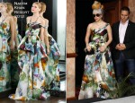 Lady Gaga In Naeem Khan - New Delhi Press Conference