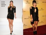 Lea Michele In Luca Luca - Mohegan Sun 15th Anniversary