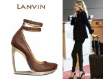 In LeAnn Rimes's Closet - Lanvin Calfskin Wedges