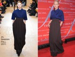 Leelee Sobieski In Jil Sander - Fashion Group International's 28th Annual Night of Stars Gala