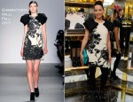 Lucy Liu In Giambattista Valli - Tory Burch Hosts The Launch Of 'Seventy Two' By Lucy Liu