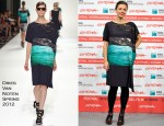 Maggie Gyllenhaal In Dries Van Noten - 'Hysteria' Rome Film Festival Photocall