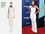 Michael Michele In Donna Karan - 'The Ides Of March' New York Premiere