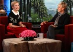 Michelle Williams In Miu Miu - The Ellen DeGeneres Show