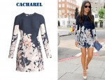 In Mila Kunis' Closet - Cacharel Poppy Print Dress