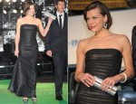 Milla Jovovich In Hervé Léger by Max Azria - 'The Three Musketeers' Tokyo International Film Festival Premiere