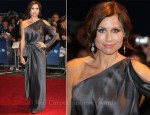 Minnie Driver In Alberta Ferretti - 'Hunky Dory' London Film Festival Premiere