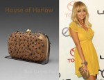 In Nicole Richie's Closet - House of Harlow Tilda Antique Studded Clutch