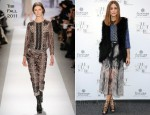 "Olivia Palermo In Tibi & Markus Lupfer - ""Talent Store"" Opening At Fidenza Village"