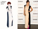 Olivia Wilde In J. Mendel & David Szeto - Glamour Reel Moments Premiere & The New Em(power)ment Luncheon