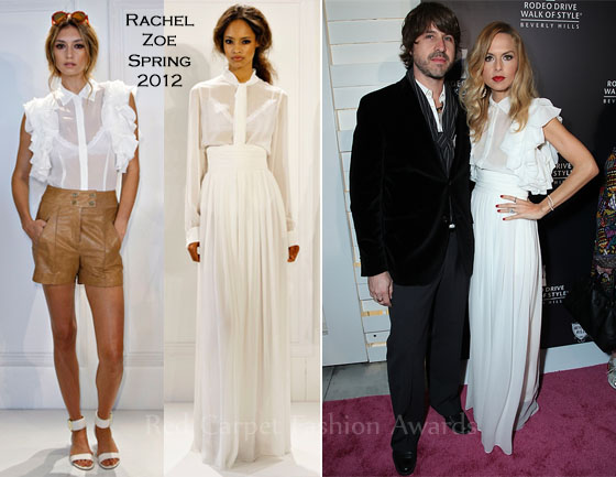 Rachel Zoe attended the Rodeo Drive Walk of Style Award Honoring Iman And  Missoni ... b1dad10a5