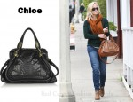 In Reese Witherspoon's Closet - Chloe Paraty Python and Leather Bag