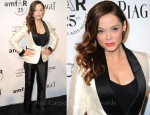 Rose McGowan In Tom Ford - 2011 amfAR Inspiration Gala Los Angeles