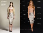 Rosie Huntington-Whiteley In Richard Nicoll - Vertu Global Launch Of The 'Constellation'