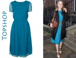 In Saoirse Ronan's Closet - Topshop Midi Dress