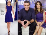 Salma Hayek In Elie Saab - Young Hollywood Studio