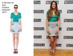 Shailene Woodley In Z Spoke by Zac Posen - 'The Descendants' London Film Festival Photocall