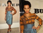 Solange Knowles - Burberry Body Launch Event