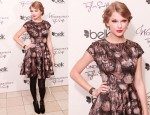 Taylor Swift In Ted Baker - 'Wonderstruck' Fragrance Tennessee Launch