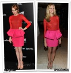 Who Wore Giambattista Valli Better? Emma Stone or Lauren Santo Domingo