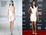 Zoe Saldana In Antonio Berardi - Gen Art's Fresh Faces In Fashion Event