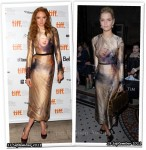 Who Wore Giles Better? Lily Cole or Pixie Geldof