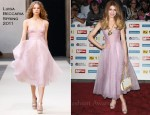 Nicola Roberts In Luisa Beccaria - 2011 Pride of Britain Awards