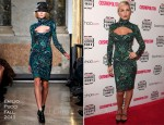 Abbey Clancy In Emilio Pucci - Cosmopolitan Ultimate Women Of The Year Awards