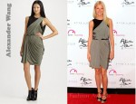 In Gwyneth Paltrow's Closet - Alexander Wang Asymmetrical Draped Dress