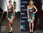 Amanda Seyfried In Michael Angel - 'In Time' Madrid Photocall